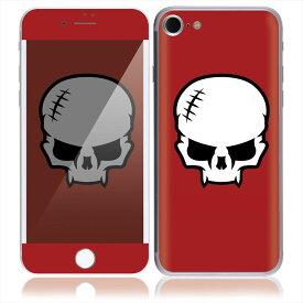 【お取寄せ】 iPhone7 7 Plus スキンシール DecalSkin [MR9/Madrockstars Skull] デコシール デコシート 背面シール iPhone 7 7Plus iPhone7Plus 送料無料
