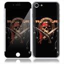 【お取寄せ】 iPhone7 7 Plus スキンシール DecalSkin [MT1/The Jolly Roger] デコシール デコシート 背面シール i...