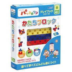 NHK パッコロリン プレイブック 4才〜 かたちブロック おもちゃ 知育玩具