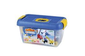 ニューブロック のりものセット 2才〜 パトカー 消防車 新幹線 飛行機など働く乗り物が作れるブロックセット おもちゃ 知育玩具