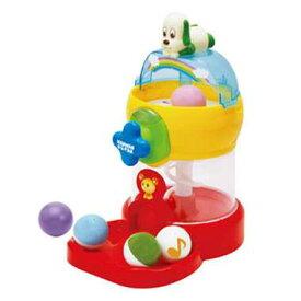 ワンワンとうーたんのおしゃべりガチャころ 球が落ちて転がっていくと楽しいテーマソングやワンワン・うーたんがおしゃべりする NHK いないいないばぁっ! いないいないばあ いないいないばあっ! いないいないばぁ おもちゃ 知育玩具