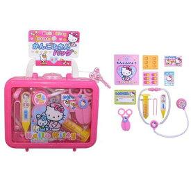 ハローキティ かんごふさんバッグ 看護婦さんごっこ キティちゃん お医者さんごっこ お医者さんセット ケース入り サンリオ おもちゃ 知育玩具