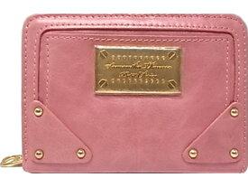 :サマンサ タバサ 財布 ファスナー二つ折り ピンク Samantha Thavasa 【未使用】