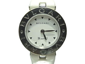 :ブルガリ ビーゼロワン レディース 腕時計 BZ22S 白文字盤 BVLGARI B-zero1 クォーツ レディースウォッチ 【中古】