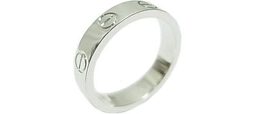 カルティエ ラブリング 750 WG リング 【仕上げ済】 Cartier 【中古】新品同様 指輪