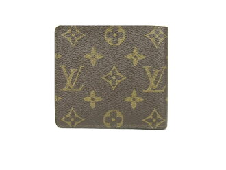 Louis Vuitton Monogram Canvas 2 fold wallet M60879 VUITTON LOUIS VUITTON