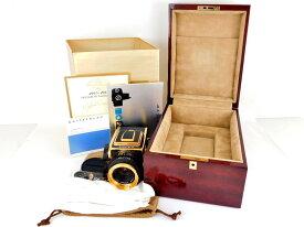 【中古】正規品 カメラ HASSELBLAD SHRIRO TRADING CO.,LTD Gold Camera 1885-1985 100 YEARS IN PHOTOGRAPHY NO.457 2000FC/M NO. RI-1520301 PLANAR F f2.8 80m/m NO.5874799 MAGAZIN A12 NO.RI-3261745【送料無料】【店頭受取対応商品】