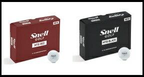 【2018年新モデル】【Golf Ball】【Snell Golf】【MTB BLACK】&【MTB RED】【1ダース(12個入り)】【ゴルフボール】【スネルゴルフ】【USGA/R&Aルール適合】【送料無料※一部地域除く】【あす楽対応】