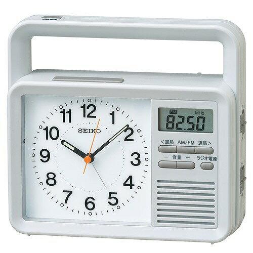 【SEIKO CLOCK セイコークロック】置き時計 クオーツ 防災 【KR885N】引越し祝い 新居祝い 一人暮らし プレゼント