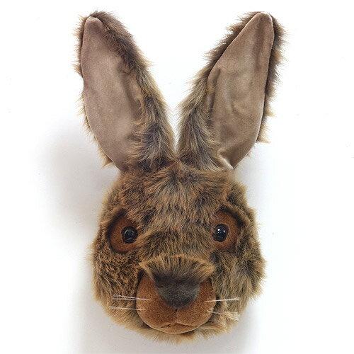 ANIMAL HEAD BROWN RABBIT (アニマル ヘッド ブラウン ラビット) 【送料無料】 【AS】
