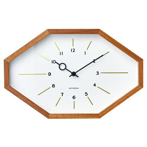 BELMONTE WALL CLOCK WHITE (ベルモンテ ウォール クロック ホワイト) CL-3024WH 【送料無料】 【ポイント5倍】