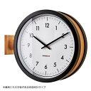 MCCARTY WALL CLOCK BLACK (マッカーティ ウォール クロック ブラック) CL-3276BK 【送料無料】 【ポイント10倍】 【IF】