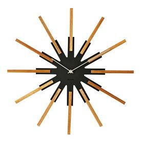 SIRIO WALL CLOCK BLACK (シリオ ウォール クロック ブラック) CL-3346BK 【送料無料】 【ポイント10倍】 【IF】