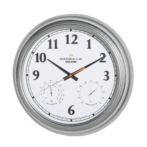 WALL CLOCK NORTHROP G-40 WD (ウォール クロック ノースロップ G-40 ホワイト) K725-926WD 【送料無料】 【ポイント5倍】