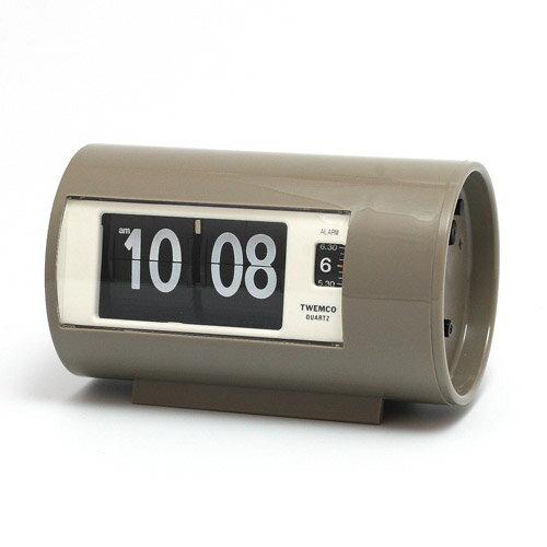 TWEMCO AP-28 PATAPATA CLOCK GRAY 別注色 (トゥウェンコ AP-28 パタパタ クロック グレー 別注色) 【送料無料】 【ポイント10倍】
