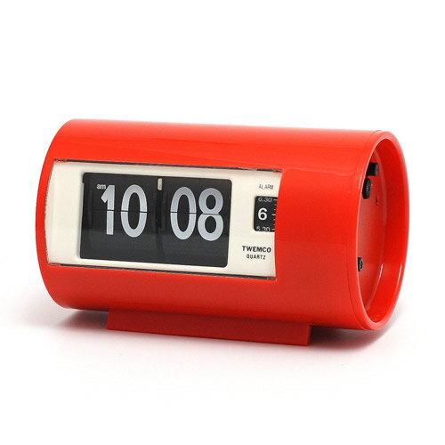■ TWEMCO AP-28 PATAPATA CLOCK RED (トゥウェンコ AP-28 パタパタ クロック レッド) 【送料無料】 【ポイント5倍】