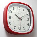 ■ SQUARE WALL CLOCK RED (スクエアー ウォール クロック レッド) 【ポイント3倍】 【あす楽対応】