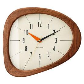 KINO WALL CLOCK BROWN (キーノ ウォール クロック ブラウン) CL-3881BN 【送料無料】 【ポイント10倍】 【IF】