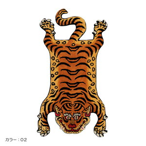 ■TIBETANTIGERRUGSMALL(チベタンタイガーラグスモール)【送料無料】【ポイント5倍】