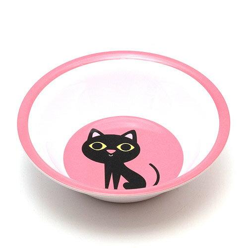 OMM DESIGN MELAMINE BOWL BLACK CAT (OMM デザイン メラミン ボウル ブラック キャット) 【AS】