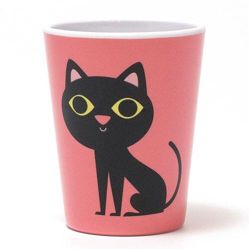 OMM DESIGN MELAMINE TUMBLR BLACK CAT (OMM デザイン メラミン タンブラー ブラック キャット) 【AS】