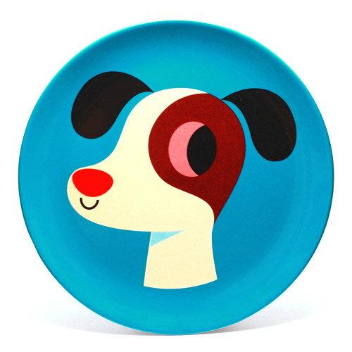 OMM DESIGN MELAMINE PLATE DOG (OMM デザイン メラミン プレート ドッグ) 【AS】