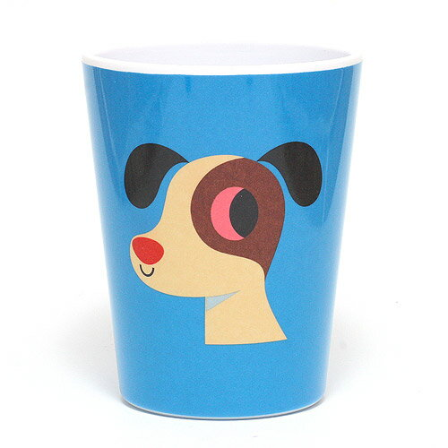 ■ OMM DESIGN MELAMINE TUMBLR DOG (OMM デザイン メラミン タンブラー ドッグ) 【AS】