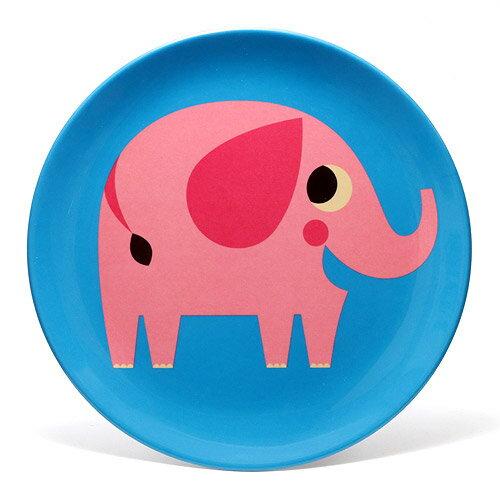 OMM DESIGN MELAMINE PLATE ELEPHANT (OMM デザイン メラミン プレート エレファント) 【AS】