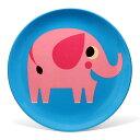 ■ OMM DESIGN MELAMINE PLATE ELEPHANT (OMM デザイン メラミン プレート エレファント) 【AS】