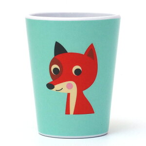 OMM DESIGN MELAMINE TUMBLR FOX WITH MINT (OMM デザイン メラミン タンブラー フォックス ウィズ ミント) 【AS】