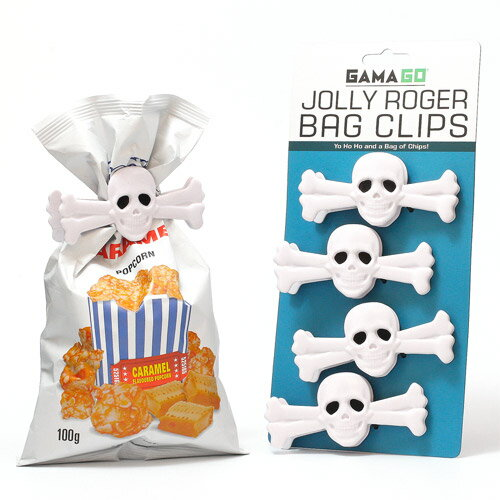 ■ GAMAGO JOLLY ROGER BAG CLIPS (ガマゴ ジョリー ロジャー バッグ クリップ) 【AS】