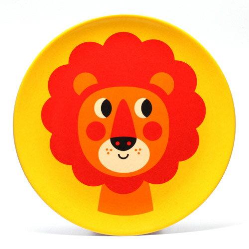 OMM DESIGN MELAMINE PLATE LION2 (OMM デザイン メラミン プレート ライオン2) 【AS】
