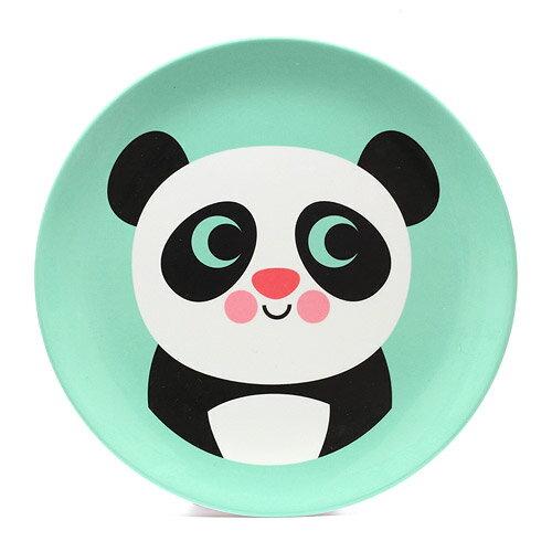 ■ OMM DESIGN MELAMINE PLATE PANDA (OMM デザイン メラミン プレート パンダ)【AS】