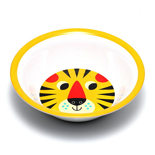 OMM DESIGN MELAMINE BOWL TIGER FACE (OMM デザイン メラミン ボウル タイガー フェイス) 【AS】
