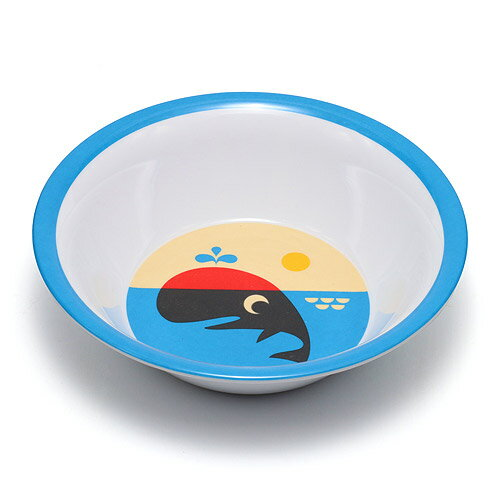 ■ OMM DESIGN MELAMINE BOWL WHALE (OMM デザイン メラミン ボウル クジラ) 【AS】