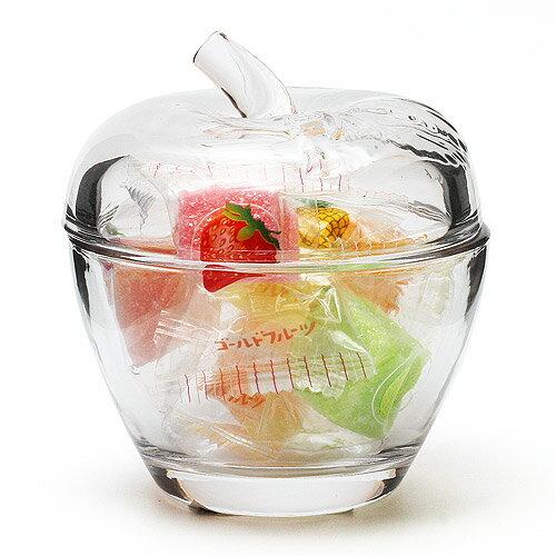 APPLE GLASS JEWELRY POD CLEAR (アップル ガラス ジュエリー ポッド クリアー)