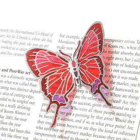 BUTTERFLY MAGNET S RED (バタフライ マグネット S レッド)