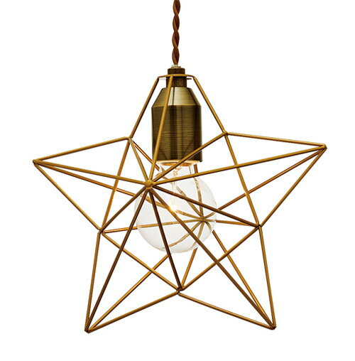 BLEIS(L) STAR PENDANT LIGHT (ブレイスL スター ペンダント ライト) LT-1091/LT-1093 【送料無料】 【ポイント5倍】 【IF】