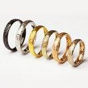 ハワイアン ジュエリー リング マリッジリング 指輪 刻印 ステンレス バレル スクロール カレイキニ 結婚指輪【楽ギフ…