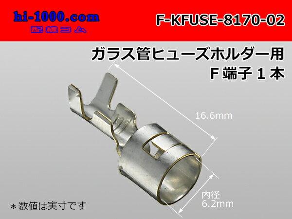 管ヒューズホルダー用F端子/F-KFUSE-8170-02