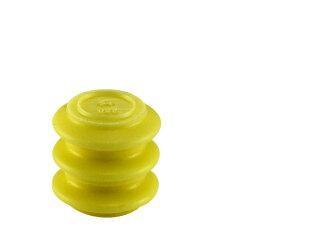 古河250型QLW防水系列假人插头黄色/DP-QLW-YE