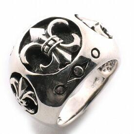 【RG-C206】SILVER925スリーオープンフレアアーチシルバーリング/【指輪】/メンズ/レディース/【あす楽】