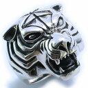 【RG-N010】SILVER 925猛虎!タイガーマンシルバーリング/【指輪】/メンズ/レディース/【あす楽】