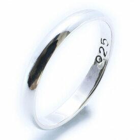 【RG-N078】SILVER925シンプルシルバーリング【指輪】/メンズ/レディース/【あす楽】/【購入数制限あり】
