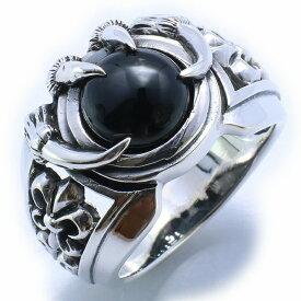 【RG-O150】SILVER 925ドラゴンクワトロクローシルバーリング/【指輪】/メンズ/レディース/【あす楽】