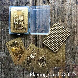 Playing Card GOLD プレイングカード ゴールド トランプ DETAIL