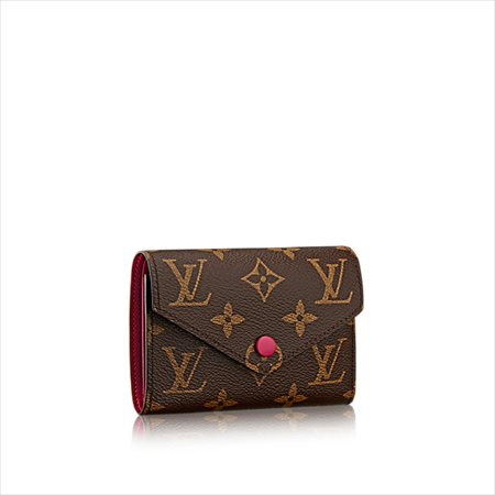 【ルイヴィトン モノグラム フューシャウ゛ィクトリーヌ】LOUIS VUITTON 財布 M41938 【Luxury Brand Selection】