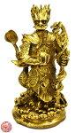 銅製五爪風水龍王像(金)銅製開運龍