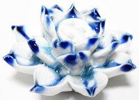 花お香立て景徳鎮製一点物陶器新品高級工芸Censer威龍彩雲通販