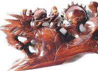 龍高級銘木手彫り開運風水龍双龍争珠開運風水手彫り龍置物新品WoodcarvingLoongDragon送料無料威龍彩雲通販楽天スーパーSALE期間中50%OFFポイント20倍